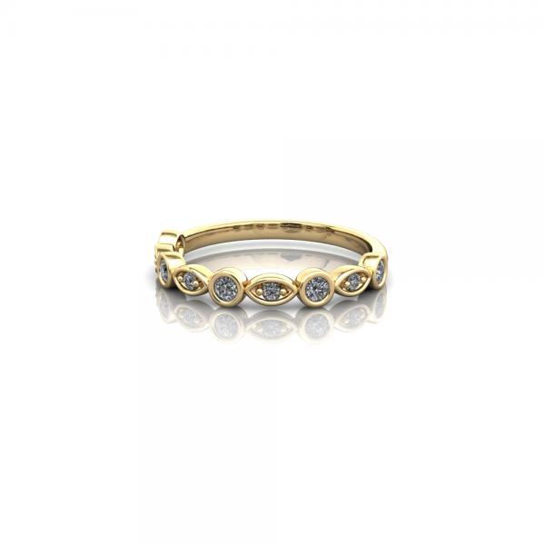 eternity ring, wedding ring